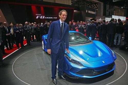 Camilleri, Ferrari: «Prima ibrida a maggio» (6)