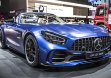 Mercedes AMG GT R Roadster, debutto al Salone di Ginevra 2019