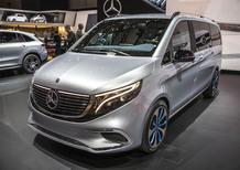 Mercedes EQV concept, esordio al Salone di Ginevra 2019 [Video]
