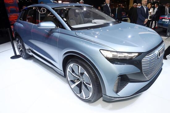 La Audi Q4 e-tron: arriverà nel 2020