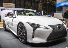 Lexus LC Convertible Concept: dopo Detroit, a Ginevra 2019 [Foto e video]