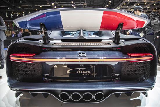 Bugatti celebra 110 anni di storia con la versione speciale Chiron 110 Ans