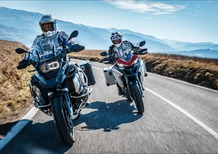 Confronto BMW R 1250 GS Adventure vs Ducati Multistrada 1260 Enduro