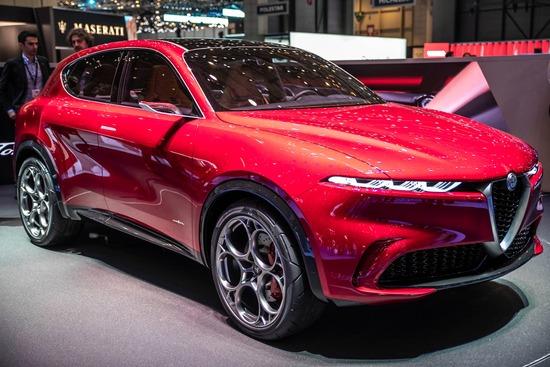 La concept Alfa Romeo Tonale al Salone di Ginevra 2019