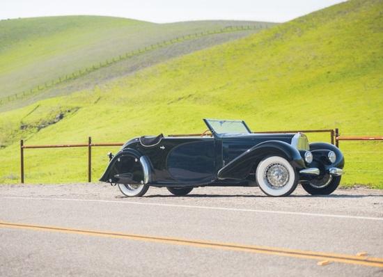 La Bugatti Tipo 57 Stelvio