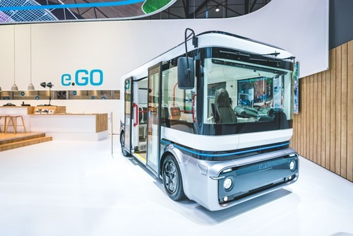 Ginevra '19, e.GO: citycar, bus compatti e mini van pronti a popolare l'Europa (su base MEB) (7)