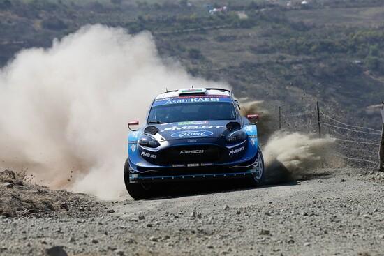Un po' di azione nello shakedown del WRC 2019 Messico