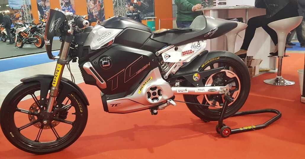 Roma Motodays: SuperSoco TC-Max Trofeo