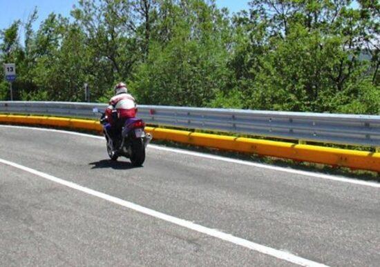 Roma Motodays: barriera salvamotociclisti allo stand ANAS