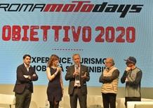 Roma Motodays, obiettivo 2020 per la mobilità sostenibile