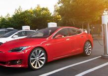 Tesla, con i Supercharger V3 tempi di ricarica dimezzati