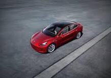 Promozione Tesla: Model 3 da 554 euro al mese