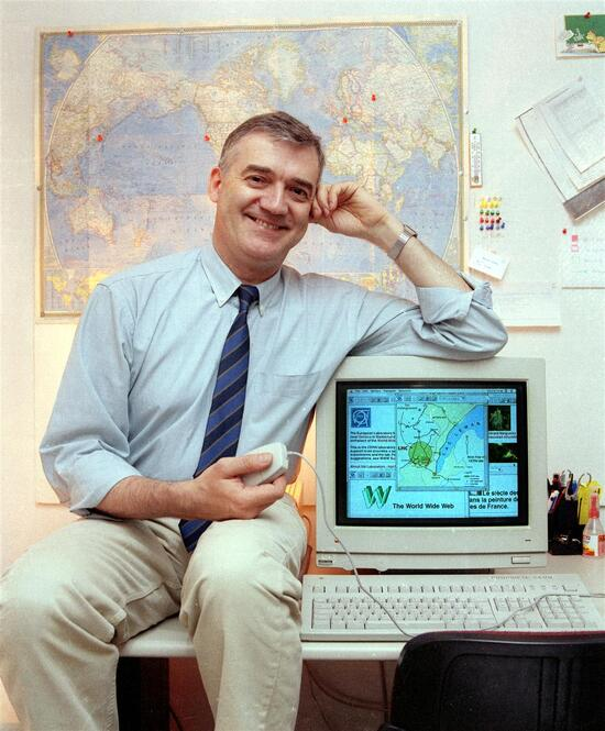 Robert Cailliau, il primo partner di Tim Berners-Lee (foto in apertura) nel progetto World Wide Web