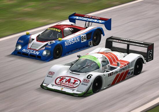Raceroom, Porsche 962 C e Nissan R90CK in arrivo