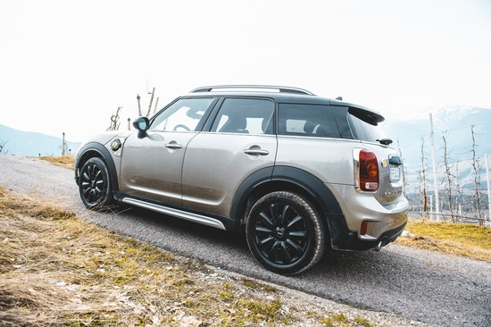 La Mini Cooper S E Countryman ALL4