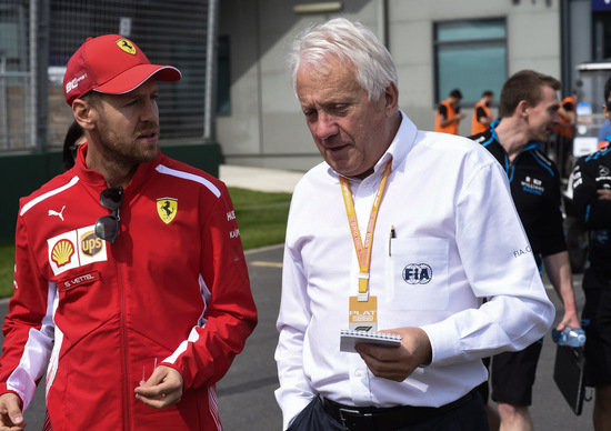 F1, Charlie Whiting è morto a 66 anni