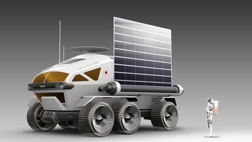 Toyota, ecco il veicolo da 6 metri che andrà sulla Luna [Video] (4)