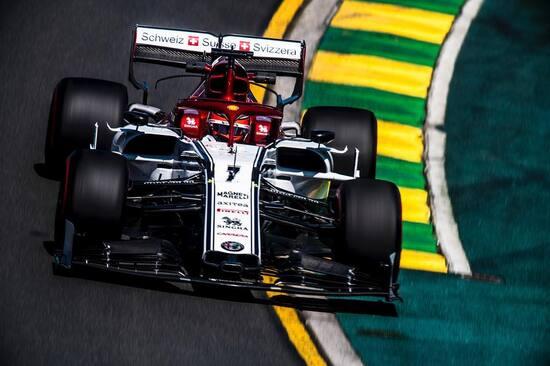 Ottavo posto per Kimi Raikkonen in Australia