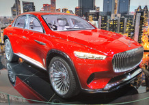 Nuovo SUV Mercedes Maybach: il futuro GLS top, da 200K, made in USA [foto concept]