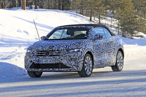 Volkswagen T-Roc Cabrio: ecco il nuovo SUV tedesco apribile [foto gallery] (4)