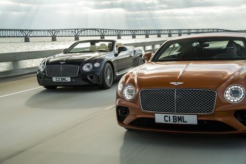 Bentley Continental GT V8, le nuove coupé e cabrio (2)