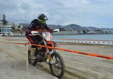 Trofeo Enduro KTM, prima prova a Sanremo: Gio Sala ci spiega come si guida sulla sabbia!