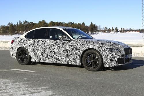 BMW M3 2020: avvistata ancora (Foto spia) (4)
