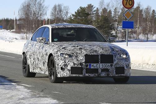 BMW M3 2020: avvistata ancora (Foto spia) (8)