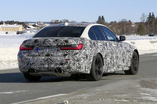 BMW M3 2020: avvistata ancora (Foto spia) (9)