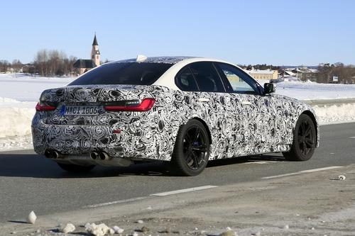 BMW M3 2020: avvistata ancora (Foto spia) (6)