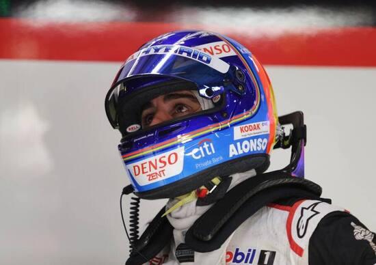 Fernando Alonso, test con la Toyota Hilux della Dakar