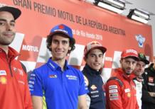 MotoGP 2019. I temi alla vigilia del GP d'Argentina