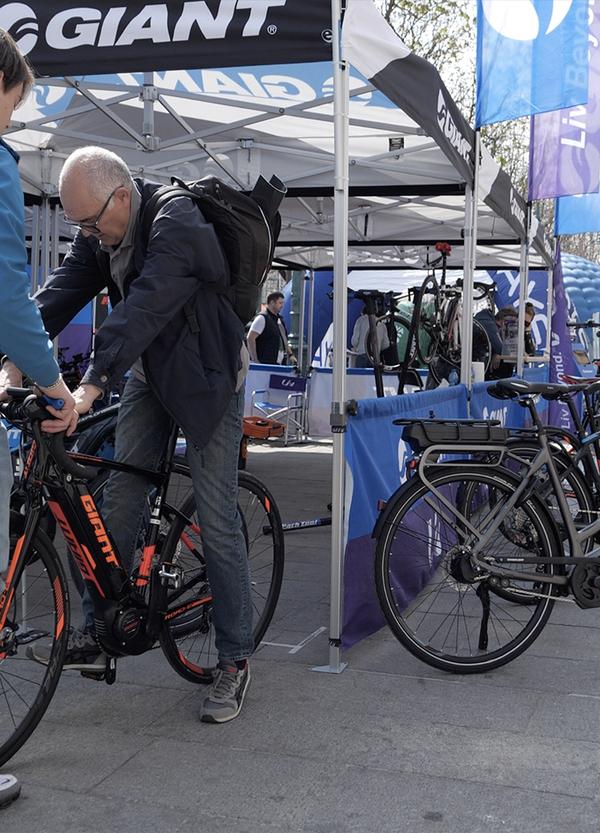 BikeUp 2019 è iniziato. Venite a provare!