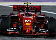 F1, GP Bahrain 2019: pole per Leclerc. Secondo Vettel