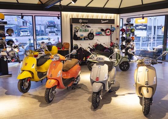 Motoplex Piaggio nel mondo: con Istanbul salgono a 500