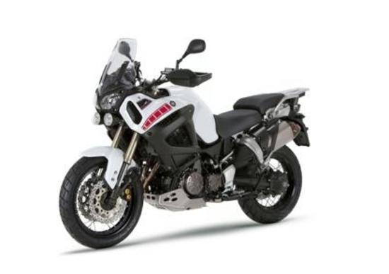 Al Motor Bike Expo Yamaha presenta in anteprima il Super Ténéré bianco