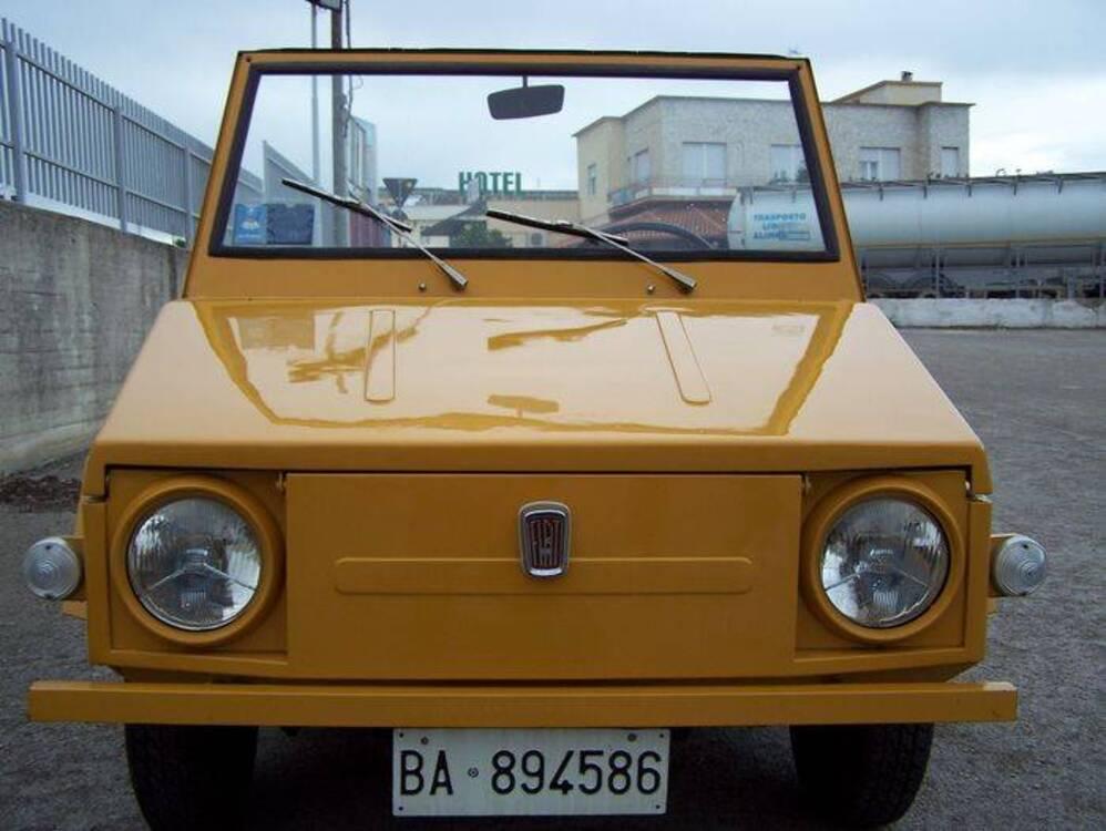 Fiat 850 Weekend carrozzata OSI d'epoca del 1968 a Corato (5)
