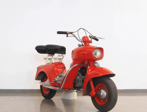 Da Vienna un'asta curiosa di scooter e moto d'epoca