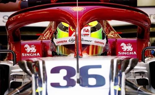 Mick Schumacher, test con Alfa Romeo dopo la Ferrari (4)
