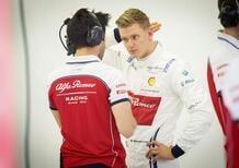 Mick Schumacher, test con Alfa Romeo dopo la Ferrari
