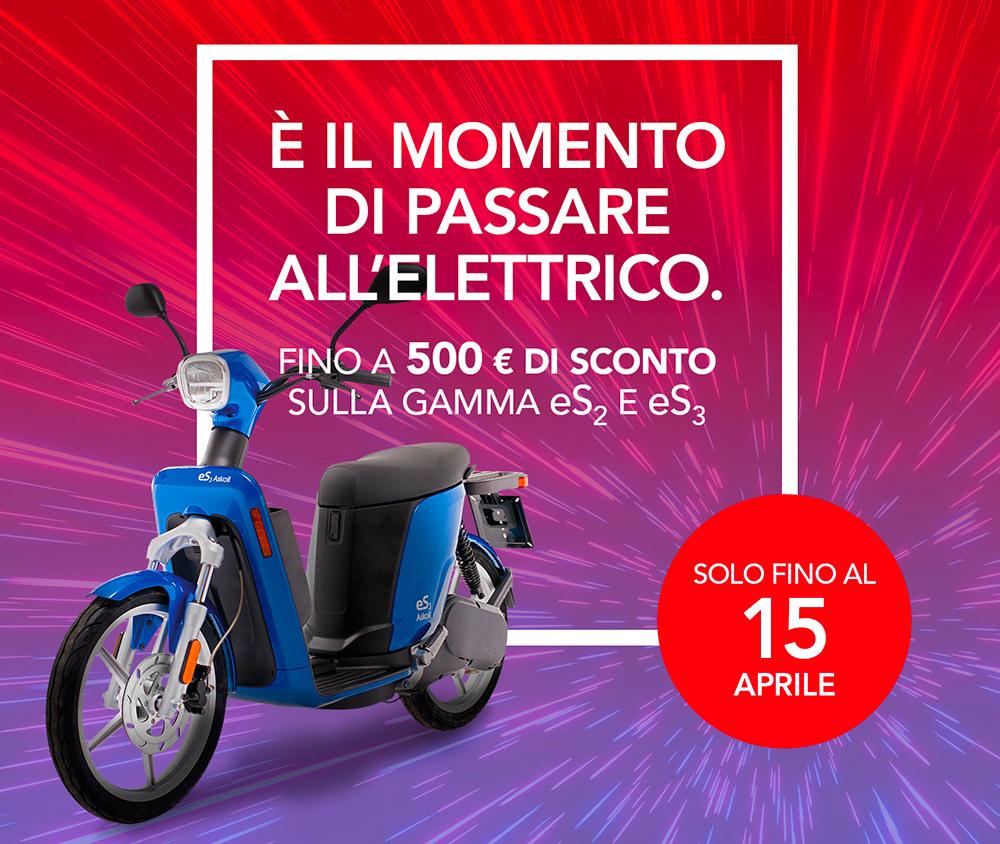 Askoll anticipa gli Ecobonus. 500 euro di incentivi sugli scooter elettrici