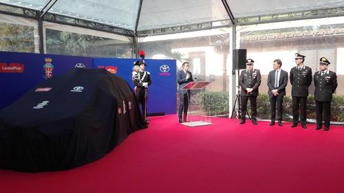 Carabinieri: 250 Toyota Yaris Hybrid per l'Arma (4)
