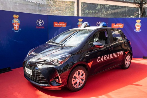 Carabinieri: 250 Toyota Yaris Hybrid per l'Arma (8)