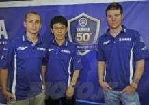 Yamaha festeggia 50 anni di corse nei Gran Premi