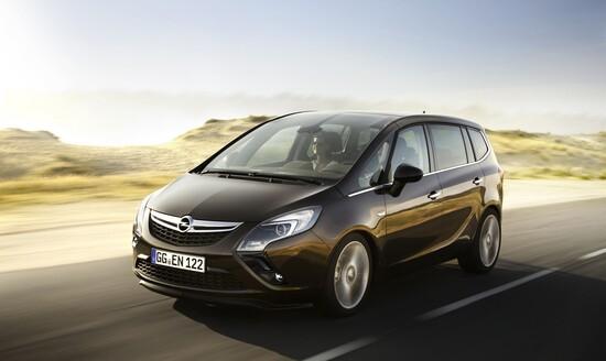 La terza generazione di Opel Zafira