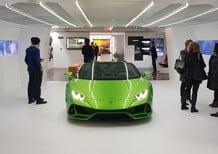 Lamborghini alla Milano Design Week 2019: non solo Huracàn EVO Spyder in via Tortona