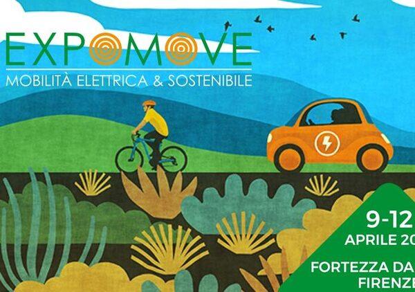 Expomove 2019. A Firenze la fiera della mobilità elettrica