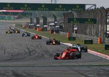 F1, GP Cina 2019: le previsioni meteo a Shanghai