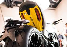 Ducati Diavel 1260 Materico presentato alla Milano Design Week