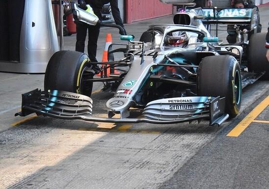 F1, GP Cina 2019. La FIA blocca l'ala della Mercedes